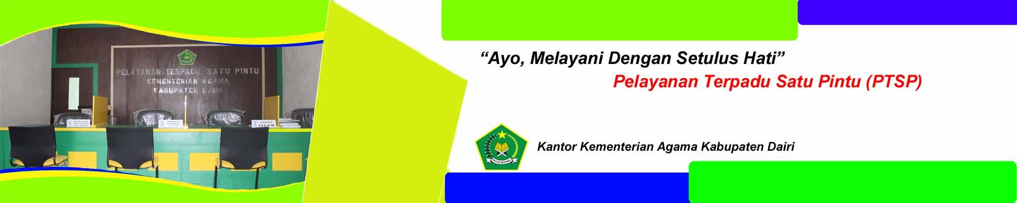 Kantor Kementerian Agama Kabupaten Dairi Jalan Pelita No 20 Sidikalang